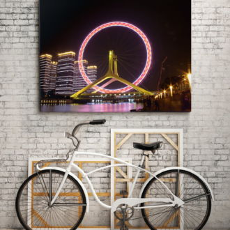 tablou canvas Tianjin Eye UNL 001 mockup 1