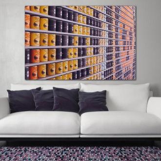 tablou canvas Tin Cans ACO 007 mockup 1