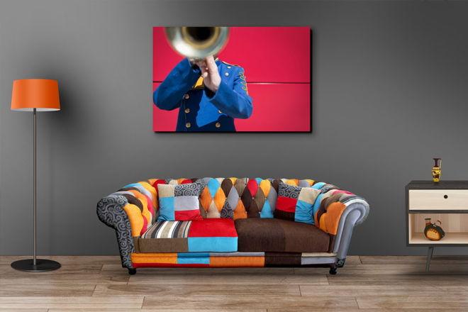 tablou canvas Trumpet LMU 003 mockup 1