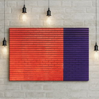 tablou canvas Two colors ACO 002 mockup 1
