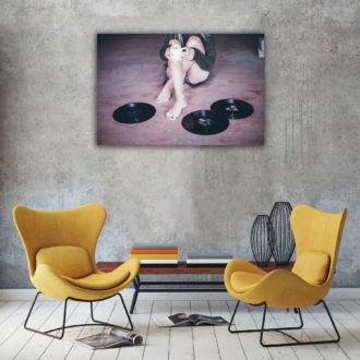 tablou canvas Vinyl LMU 001 mockup 1