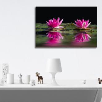 tablou canvas Water Lilies NFL 003 mockup 1