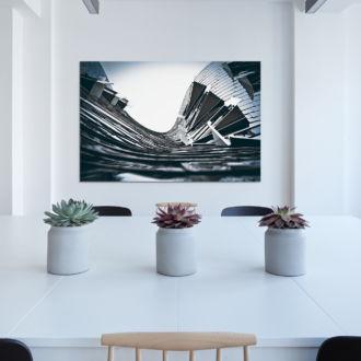 tablou canvas Winding windows UAR 012 mockup 1