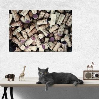 tablou canvas Wine Corks AWO 006 mockup 1