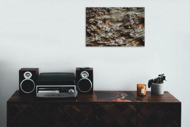 tablou canvas Wood Close up AWO 004 mockup 1