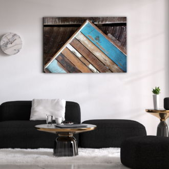 tablou canvas Wood Frame AWO 007 mockup 1