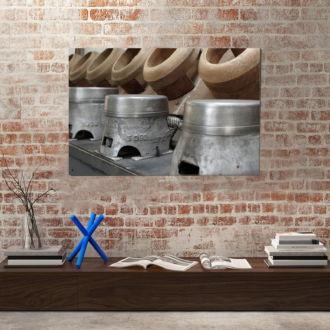 tablou canvas Wood and metal UND 008 mockup 1