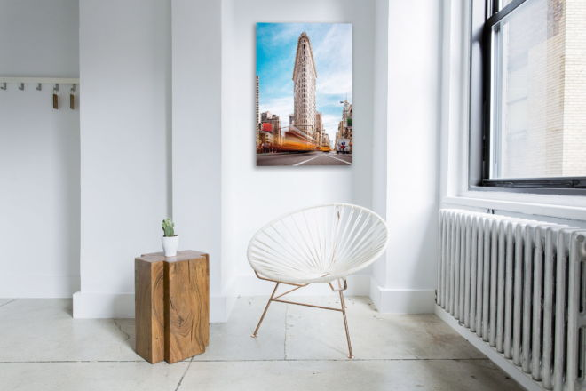 tablou canvas cladirea flat iron din new york UCC 003 mockup 1