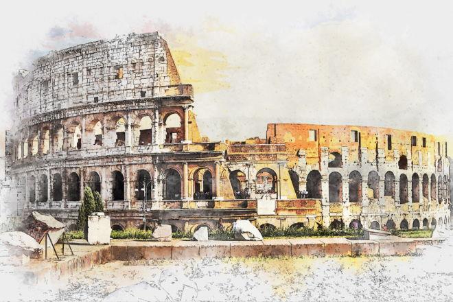 tablou canvas colosseum ul roman UCC 011 1