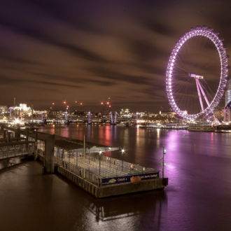 tablou canvas london eye pe timp de noapte UNL 029 1
