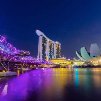 tablou canvas marina bay din singapore UNL 041 1