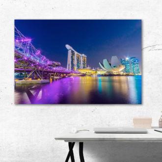 tablou canvas marina bay din singapore UNL 041 mockup 1