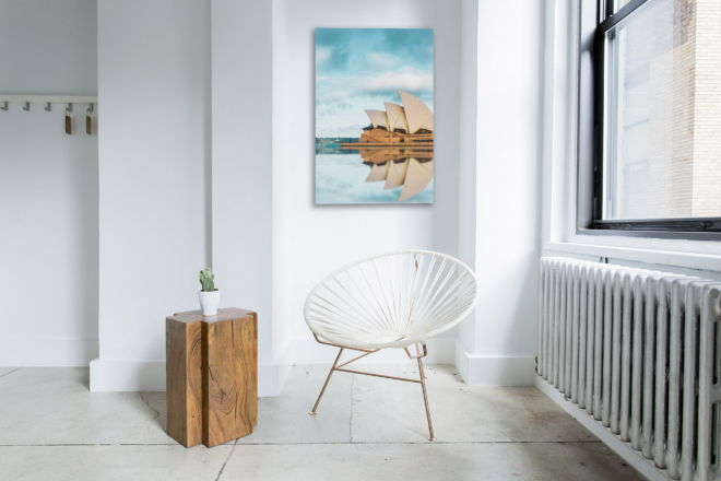 tablou canvas reflexia operei din sydney UCC 014 mockup 1