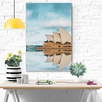 tablou canvas reflexia operei din sydney UCC 014 mockup 2 1