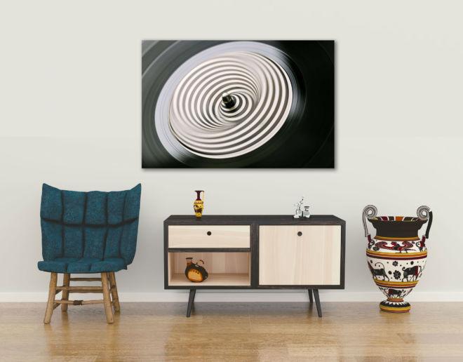 tablou canvas abstract alb negru ABWL 004 1