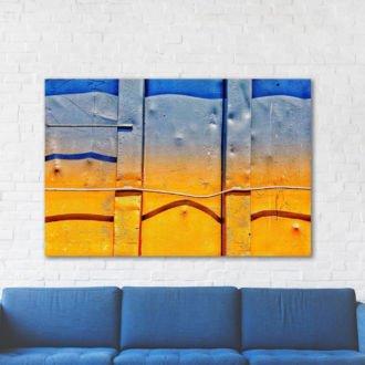 tablou canvas abstract culori ACOL 002 1