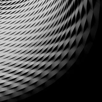 tablou canvas abstract alb negru ABWL 005