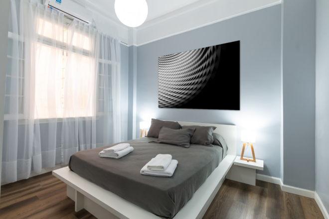 tablou canvas abstract alb negru ABWL 005 simulare2