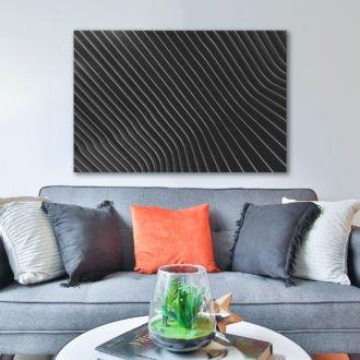 tablou canvas abstract alb negru ABWL 006 1