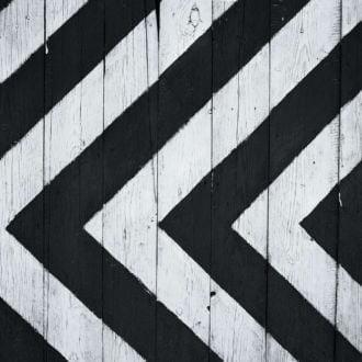 tablou canvas abstract alb negru ABWL 007