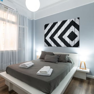 tablou canvas abstract alb negru ABWL 007 simulare2