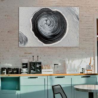 tablou canvas abstract alb negru ABWL 010 1 scaled