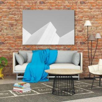 tablou canvas abstract alb negru ABWL 011 1 1