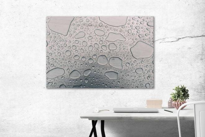 tablou canvas abstract alb negru ABWL 012 simulare3
