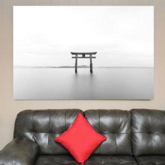 tablou canvas abstract alb negru ABWL 015 1