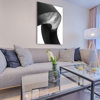 tablou canvas abstract alb negru ABWP 007 simulare4