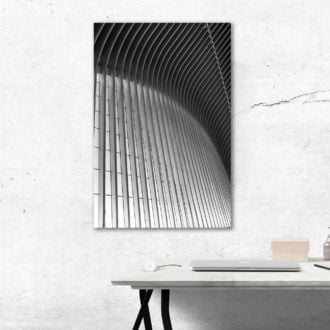 tablou canvas abstract alb negru ABWP 008 simulare2