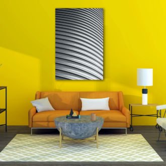 tablou canvas abstract alb negru ABWP 009 1