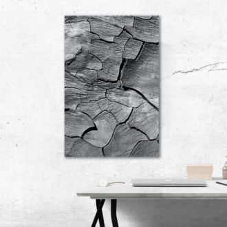 tablou canvas abstract alb negru ABWP 010 simulare2
