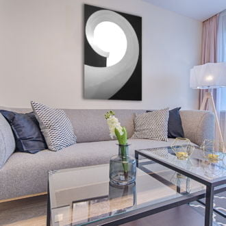 tablou canvas abstract alb negru ABWP 012 simulare4
