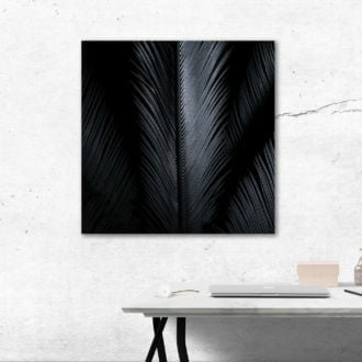 tablou canvas abstract alb negru ABWS 001 simulare3