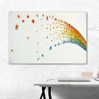 tablou canvas abstract culori ACOL 004 simulare3