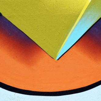 tablou canvas abstract culori ACOL 007