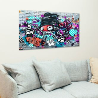 tablou canvas abstract graffiti AGRL 005 1 scaled