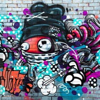 tablou canvas abstract graffiti AGRL 005
