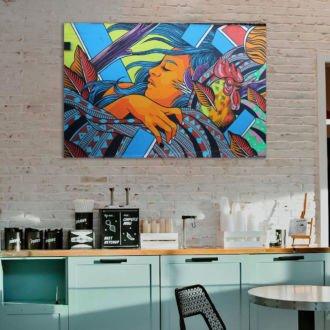 tablou canvas abstract graffiti AGRL 009 1 scaled