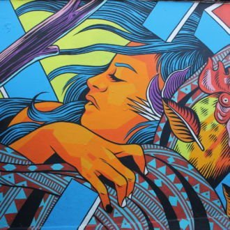 tablou canvas abstract graffiti AGRL 009
