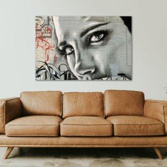 tablou canvas abstract graffiti AGRL 011 1