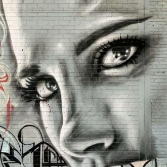 tablou canvas abstract graffiti AGRL 011