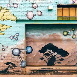 tablou canvas abstract graffiti AGRL 013