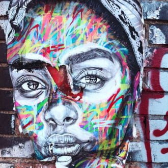 tablou canvas abstract graffiti AGRP 003