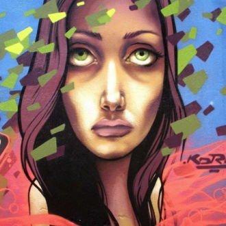 tablou canvas abstract graffiti AGRP 004